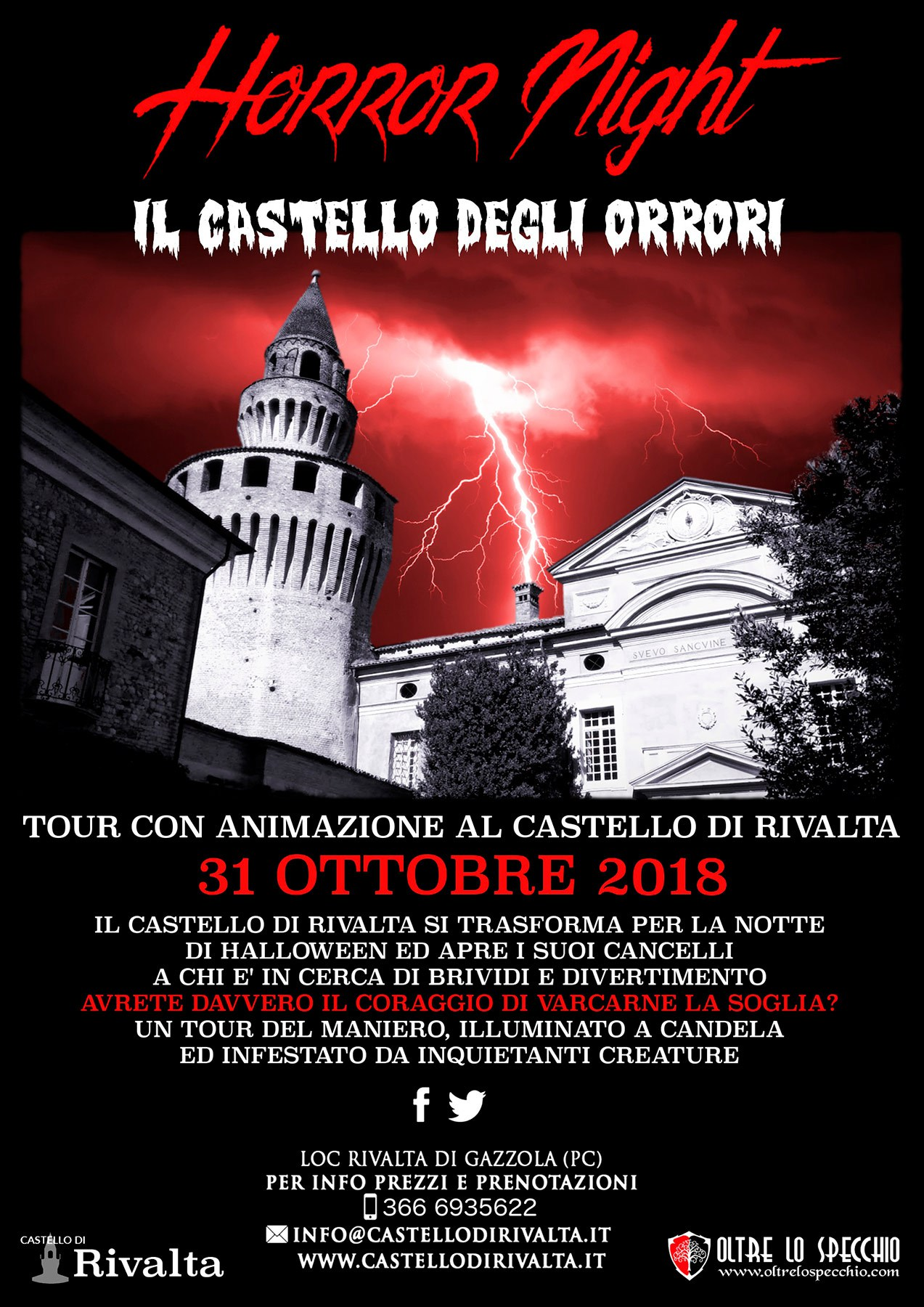 Horror Night al Castello di Rivalta